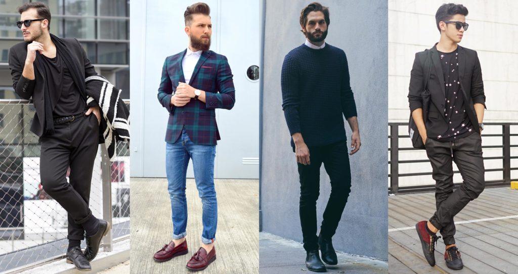 Mens Semi Casual Formal Dressing