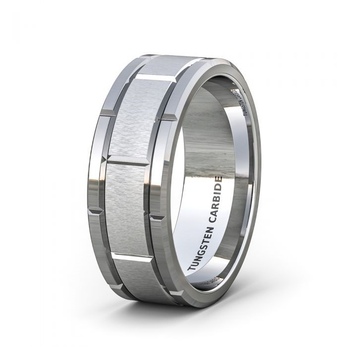 Tungsten Men's Wedding Ring