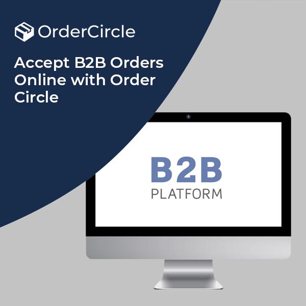 B2B ordering system