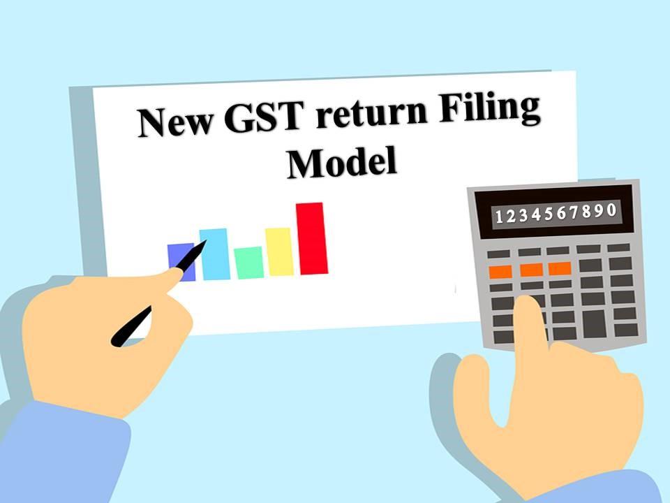 GST return filing model