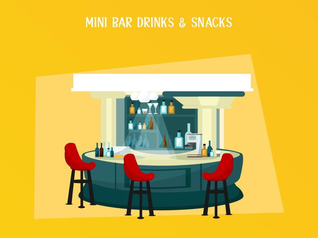 Mini Bar Drinks & Snacks