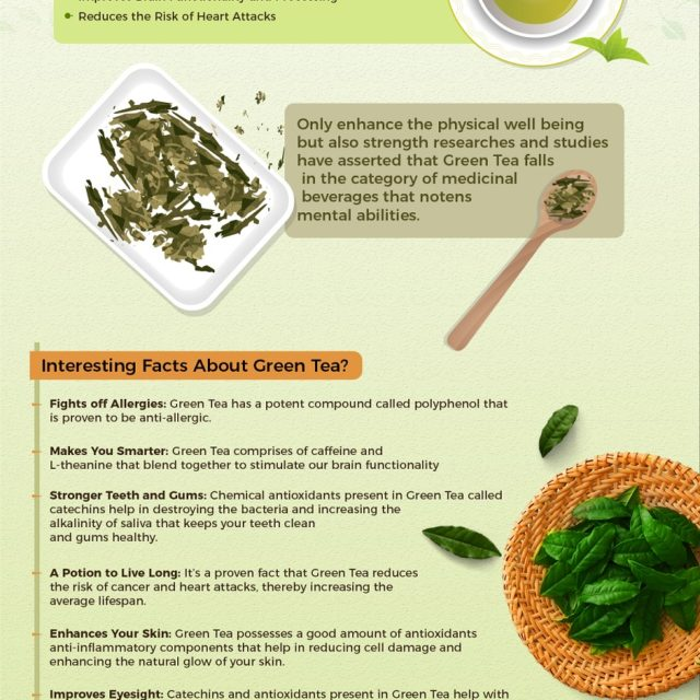 Revitalize Your Life With a Sip of Rejuvenation Green Tea