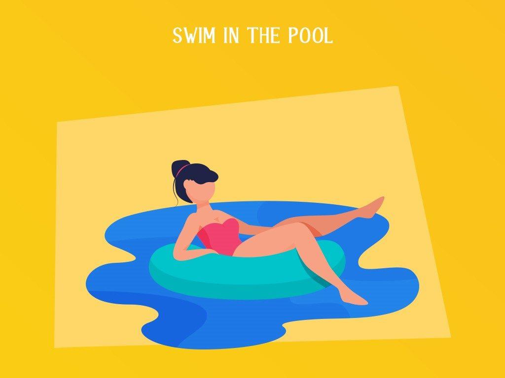Swim in The Pool