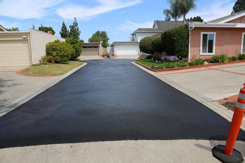necessity and need for resurfacing driveway