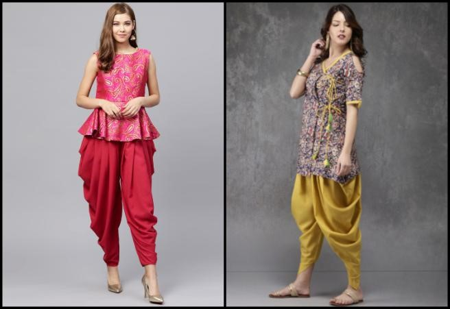 Kurti with Dhoti Pants