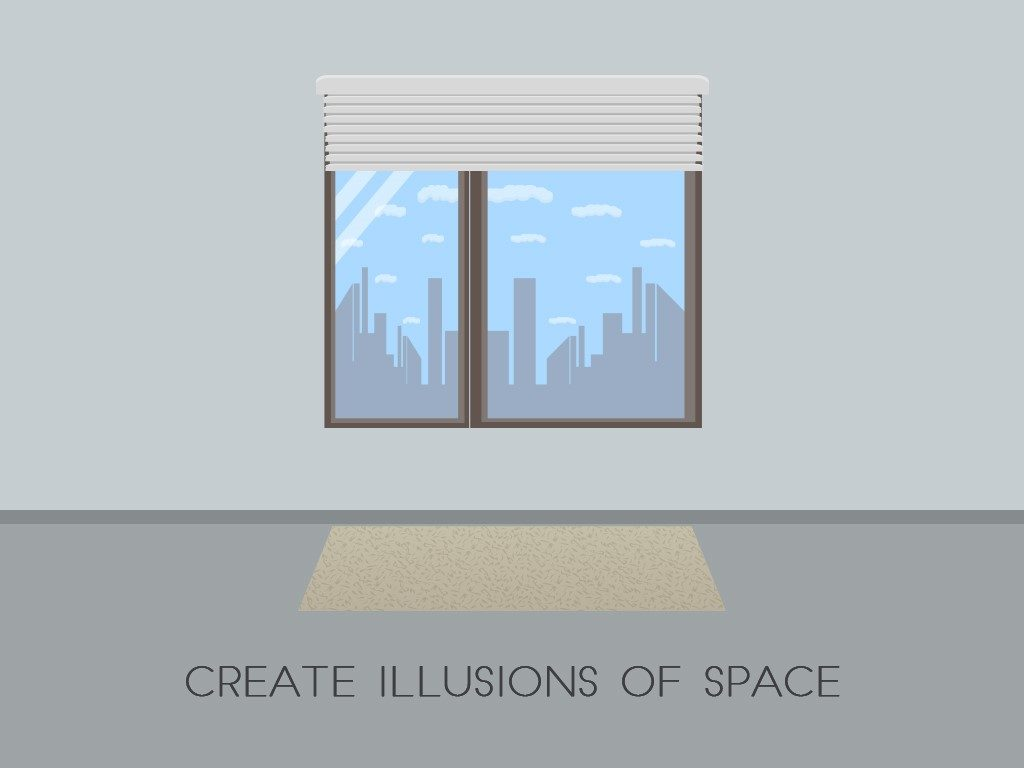 illusions of space