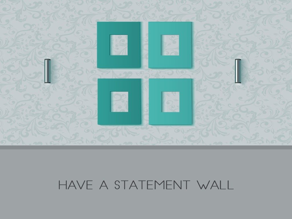 statement wall