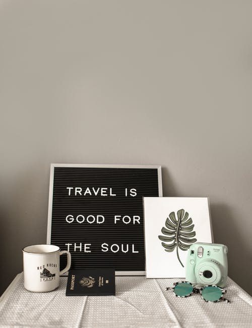 Fun Travel themed Inspired home decor