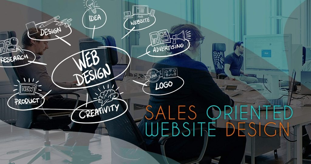sales-oriented Website