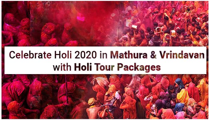 Holi Celebration 2020 in Mathura & Vrindavan
