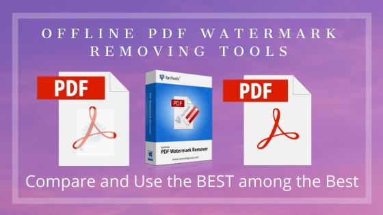 Watermark PDF Remover