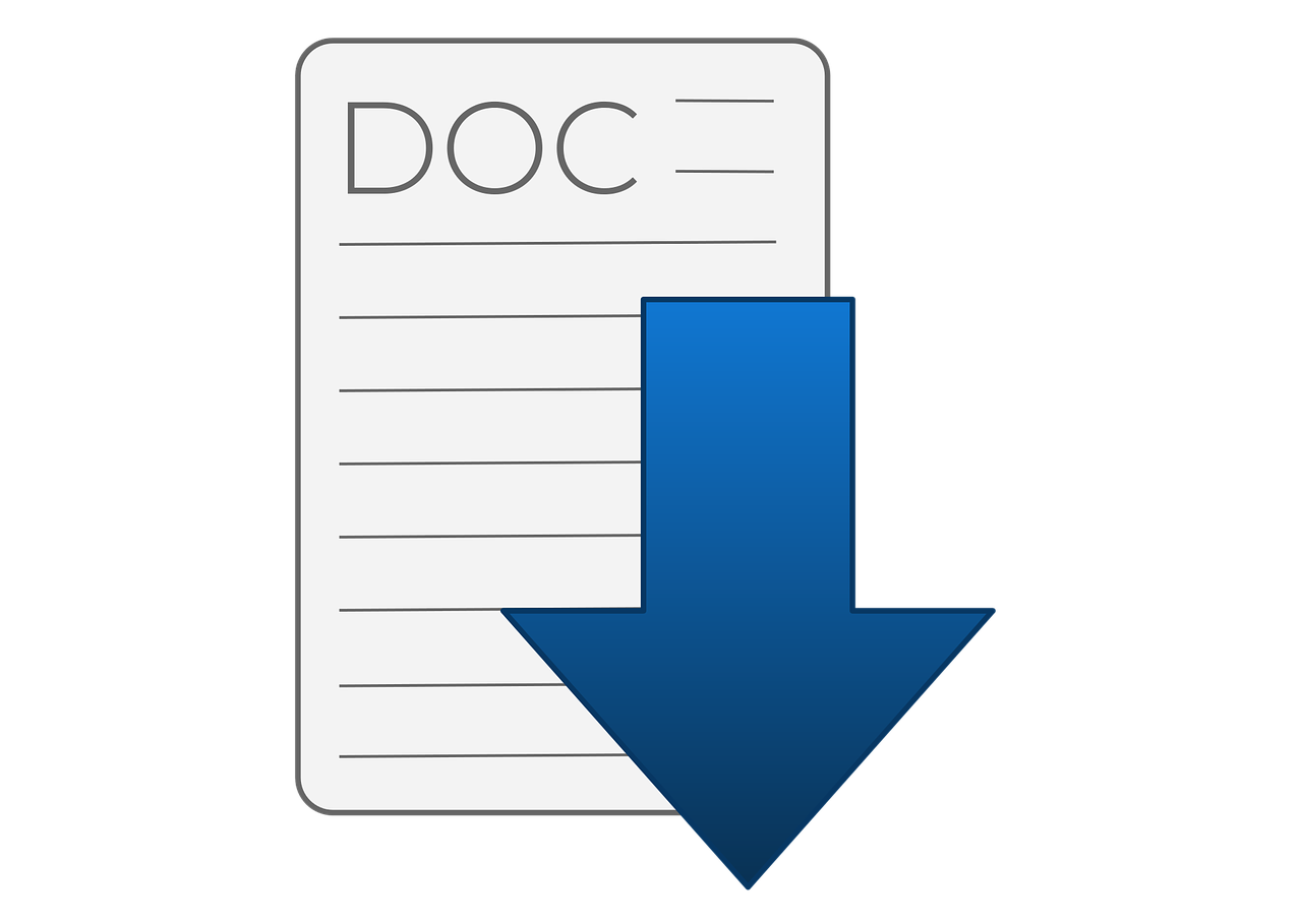 Google Docs Word document